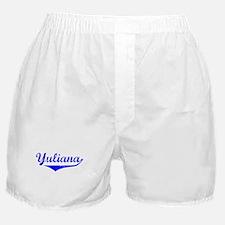 Yuliana Vintage (Blue) Boxer Shorts