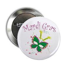 "Mardi Gras Mask 2.25"" Button (10 pack)"