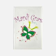 Mardi Gras Mask Rectangle Magnet (10 pack)