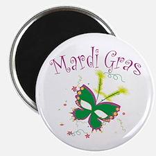 "Mardi Gras Mask 2.25"" Magnet (100 pack)"