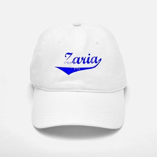 Zaria Vintage (Blue) Baseball Baseball Cap