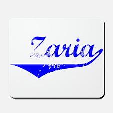 Zaria Vintage (Blue) Mousepad