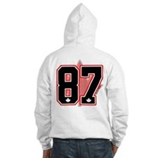 *CUSTOM Black* Canada Hockey 87 Jumper Hoody