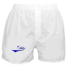 Zoie Vintage (Blue) Boxer Shorts