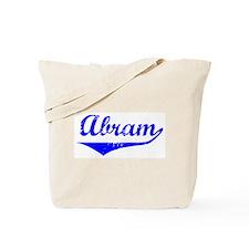 Abram Vintage (Blue) Tote Bag