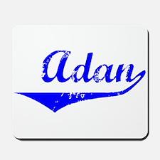 Adan Vintage (Blue) Mousepad