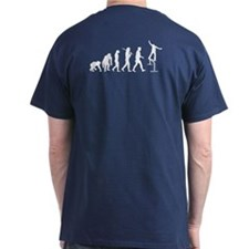 Skate boarding rail grind T-Shirt