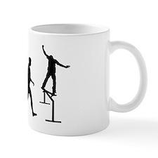 Skate boarding rail grind Mug