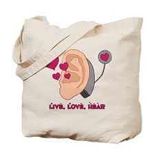 Unique Cochlear implant Tote Bag
