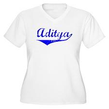 Aditya Vintage (Blue) T-Shirt
