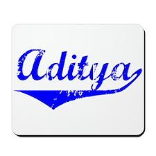 Aditya Vintage (Blue) Mousepad