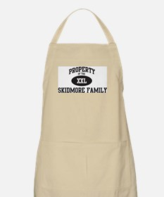 Property of Skidmore Family BBQ Apron