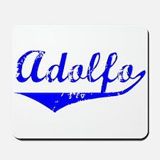 Adolfo Vintage (Blue) Mousepad