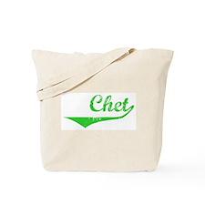 Chet Vintage (Green) Tote Bag
