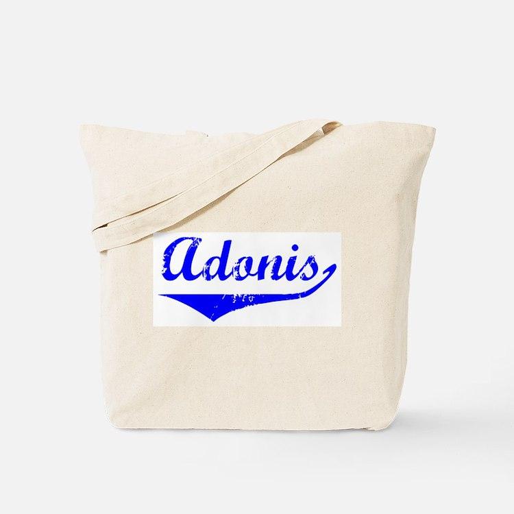 Adonis Vintage (Blue) Tote Bag