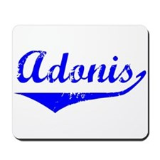 Adonis Vintage (Blue) Mousepad