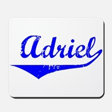 Adriel Vintage (Blue) Mousepad
