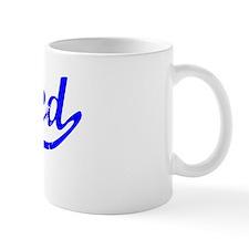 Ahmed Vintage (Blue) Small Mug