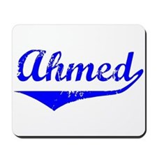 Ahmed Vintage (Blue) Mousepad