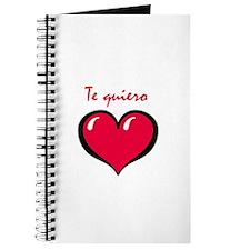Te quiero Journal