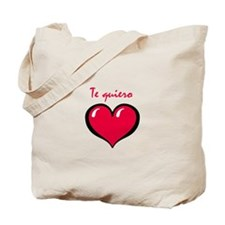 Te quiero Tote Bag