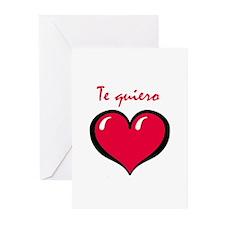 Te quiero Greeting Cards (Pk of 20)