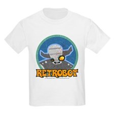 Retro Robot - Retrobot Kids T-Shirt
