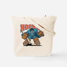 Cross Bones Hockey Goalie Tote Bag