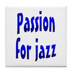 Jazz Tile Coaster