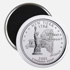 """New York State Quarter 2.25"""" Magnet (10 pack)"""