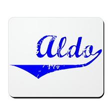 Aldo Vintage (Blue) Mousepad