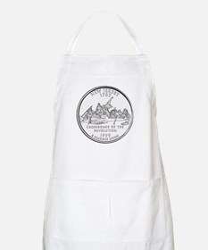 New Jersey State Quarter BBQ Apron