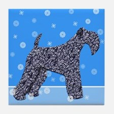 KERRY BLUE TERRIER Tile Coaster