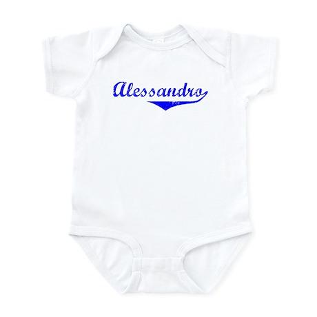 Alessandro Vintage (Blue) Infant Bodysuit