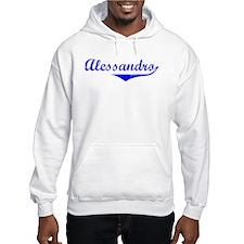 Alessandro Vintage (Blue) Hoodie