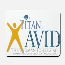 Titan AVID Truman Logo Mousepad