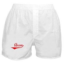 Aron Vintage (Red) Boxer Shorts