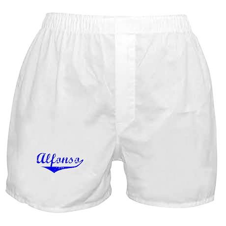 Alfonso Vintage (Blue) Boxer Shorts