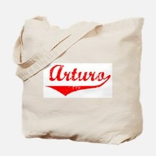 Arturo Vintage (Red) Tote Bag