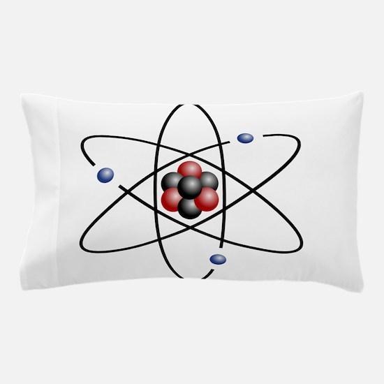 Atom design - color Pillow Case