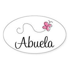 Abuela Grandmother Oval Decal