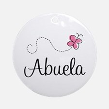 Abuela Grandmother Ornament (Round)