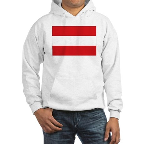 Austrian flag Hooded Sweatshirt