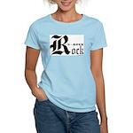 Rock N Roll Women's Pink T-Shirt