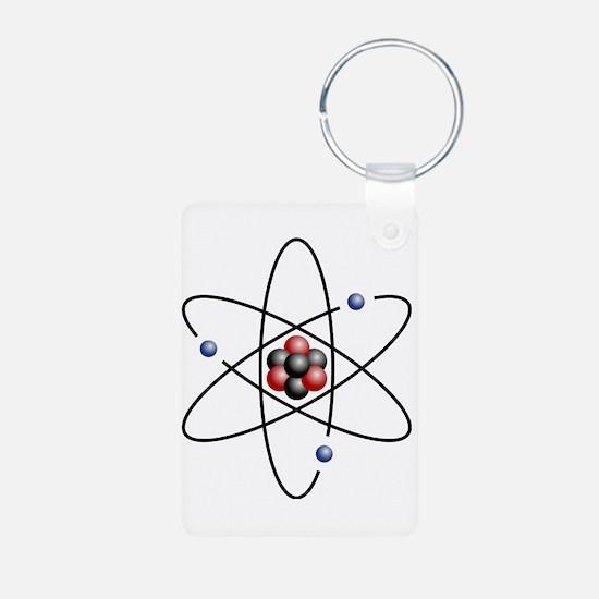 Atom design - color Keychains