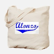 Alonzo Vintage (Blue) Tote Bag