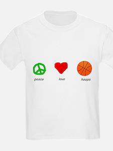 Peace, Love, Hoops T-Shirt