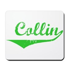 Collin Vintage (Green) Mousepad