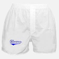 Alvaro Vintage (Blue) Boxer Shorts