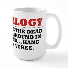 Hang Them On A Tree Large Mug